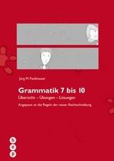 """Buchcover der Buches """"Grammatik"""""""